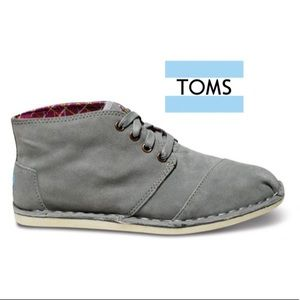 Toms Wisett Desert Botas Grey Bootie High Tops